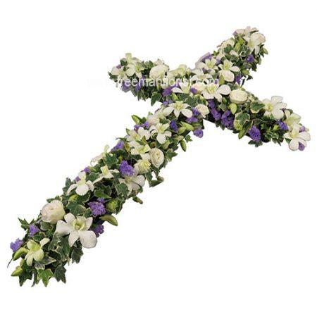 Peace and Prayers Casket Cross (WCO01)