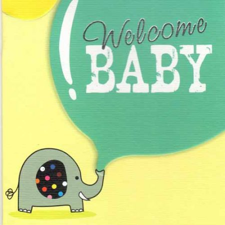 Welcome Baby Card 01